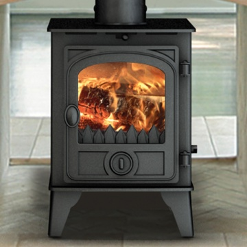 Hunter Hawk 4 Double Sided Wood Burning & Multi-Fuel Stove