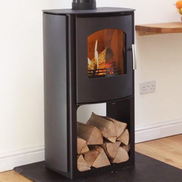 Mendip Churchill 8 SE Convection With Logstore Multi-Fuel Stove
