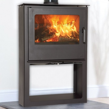 Mendip Loxton 10 SE Logstore Wood Burning / Multi-Fuel Stove