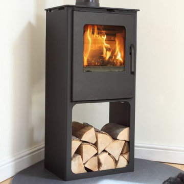 Mendip Loxton 8 SE Logstore Wood Burning / Multi-Fuel Stove