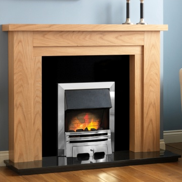 Pureglow Hanley Oak Fireplace