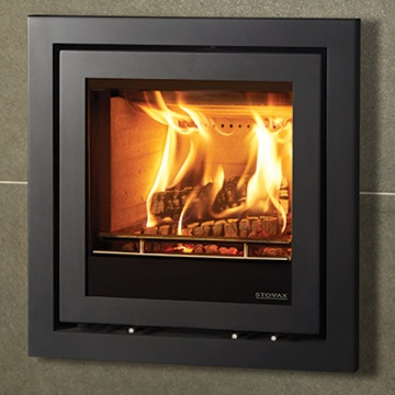 Stovax Elise Profil Inset Wood Burning Cassette Fire