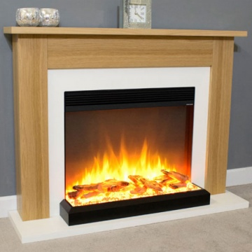 Suncrest Penrith Electric Fireplace Suite