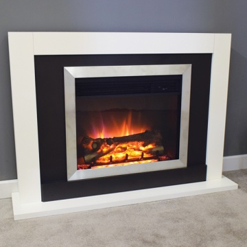 Suncrest Romney Electric Fireplace Suite
