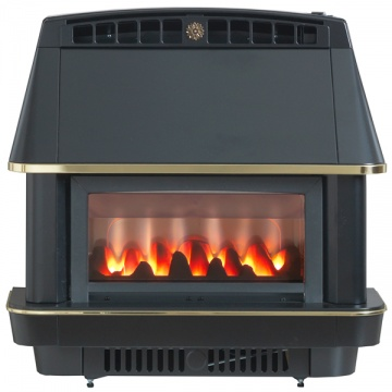 Valor Firecharm LFE Electronic Outset Gas Fire