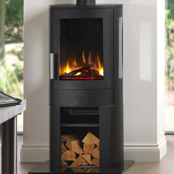 Acr Neo 3c Electric Stove Flames Co Uk, Electric Corner Fireplace Uk