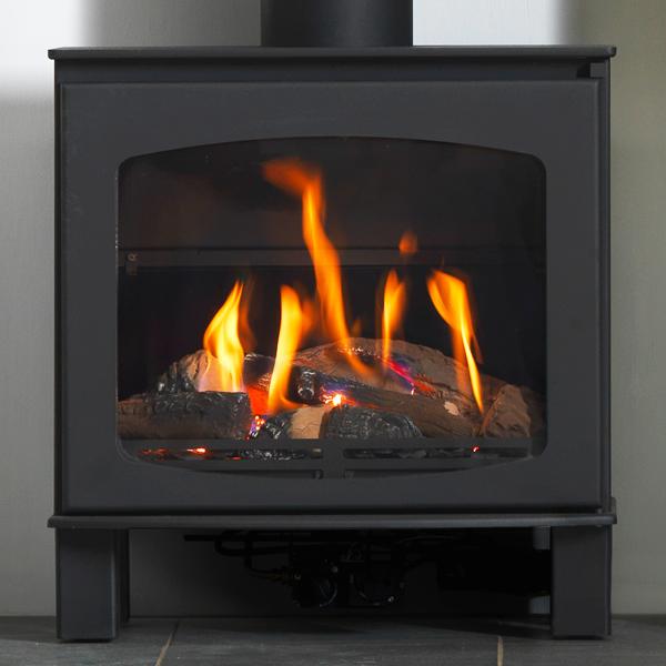 ACR Wychwood Balanced Flue Natural Gas Stove - Farmhouse
