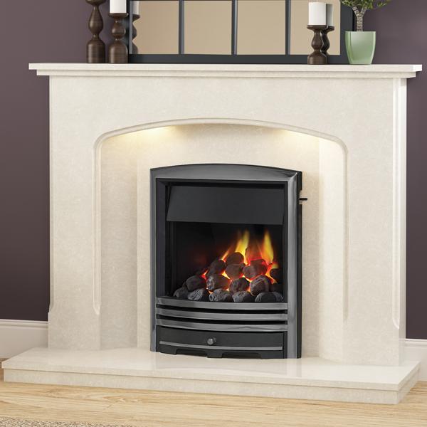 Be Modern Octavia Marble Fireplace Flames Co Uk