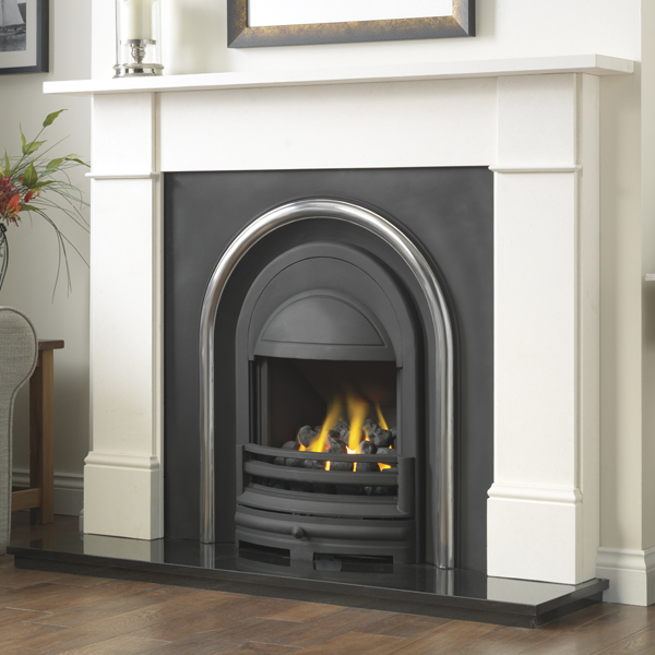 Cast Tec Flat Victorian Fireplace | Flames.co.uk
