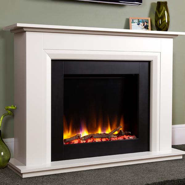 Celsi Ultiflame Vr Elara Electric Fireplace Suite Flames