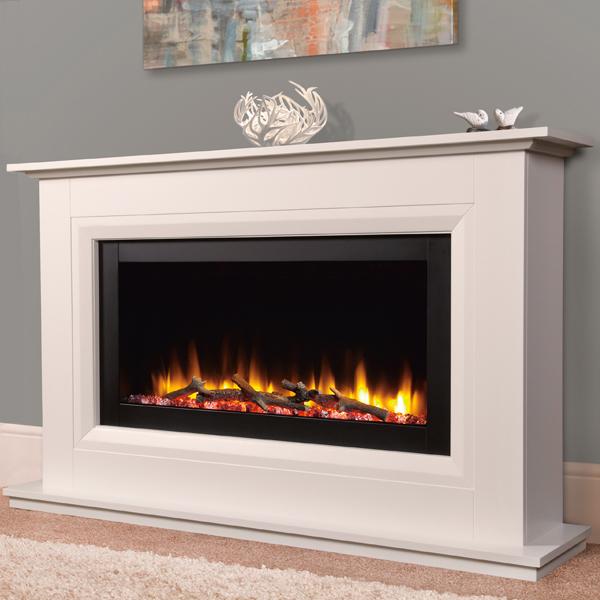 Celsi Ultiflame Vr Vega Electric Fireplace Suite Flames