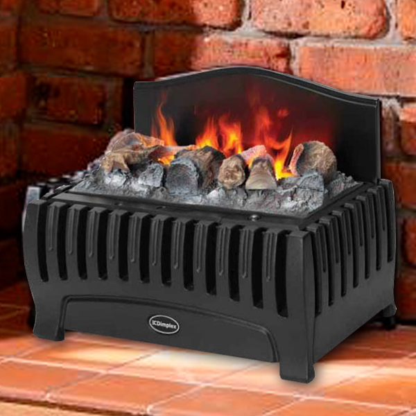 Dimplex Westbrook Opti Myst Electric Basket Fire Flames