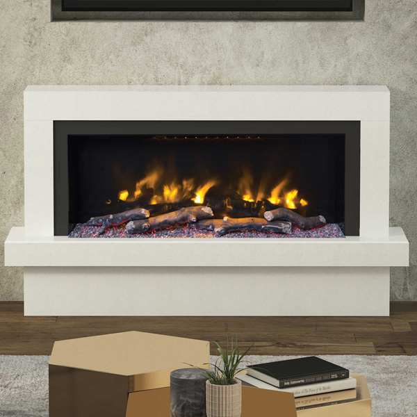 Elgin Amp Hall Pryzm Impero 57 Quot Marble Electric Fireplace