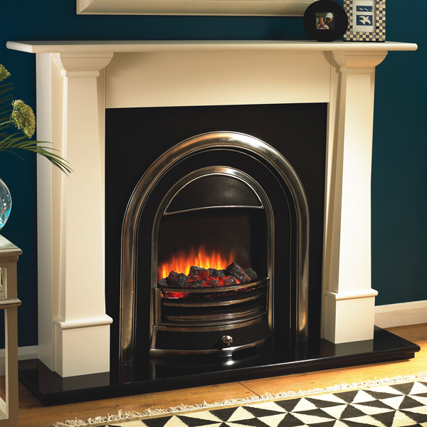 Flamerite Bronte with Tennyson Electric Fireplace Suite ...