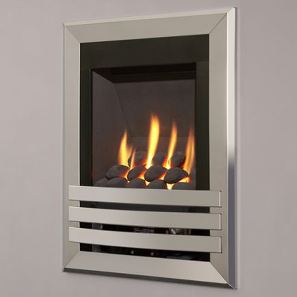 Flavel Windsor Contemporary Wall Mounted Gas Fire Flames