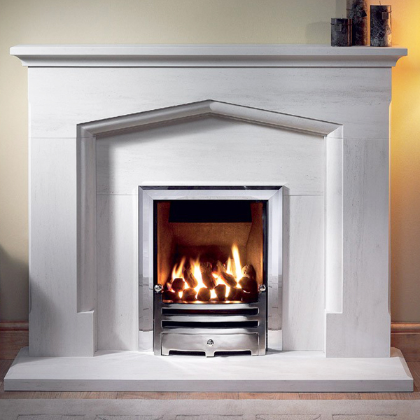 Gallery Coniston Portuguese Limestone Fireplace Suite Flames Co Uk