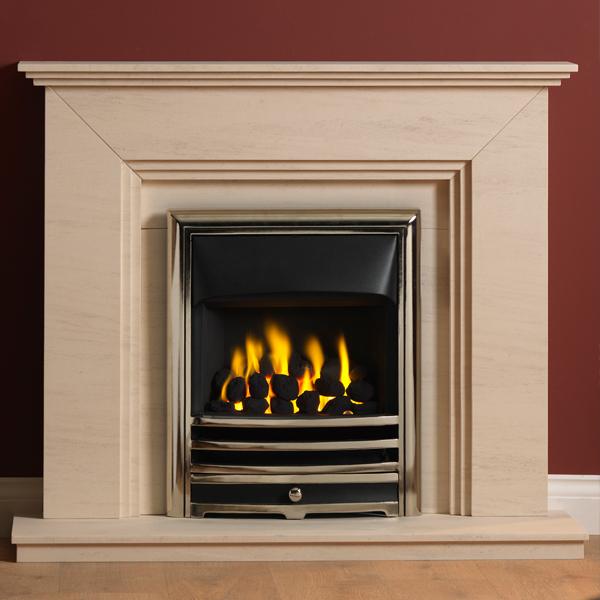 Gallery Cranbourne Portuguese Limestone Fireplace Suite Flames Co Uk