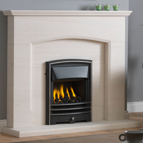 Gallery Dacre Portuguese Limestone Fireplace Suite Flames Co Uk