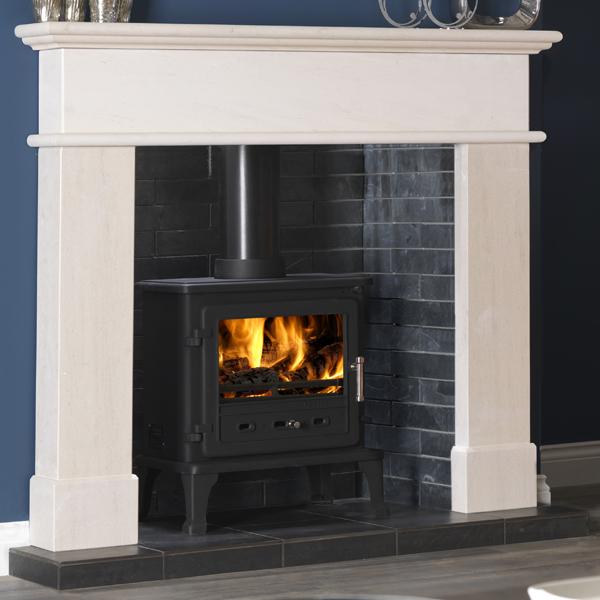 Gallery Pisa Portuguese Limestone Fireplace Flames Co Uk