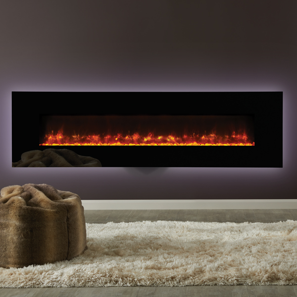 Gazco Radiance 190w Wall Mounted Electric Fire Flames Co Uk