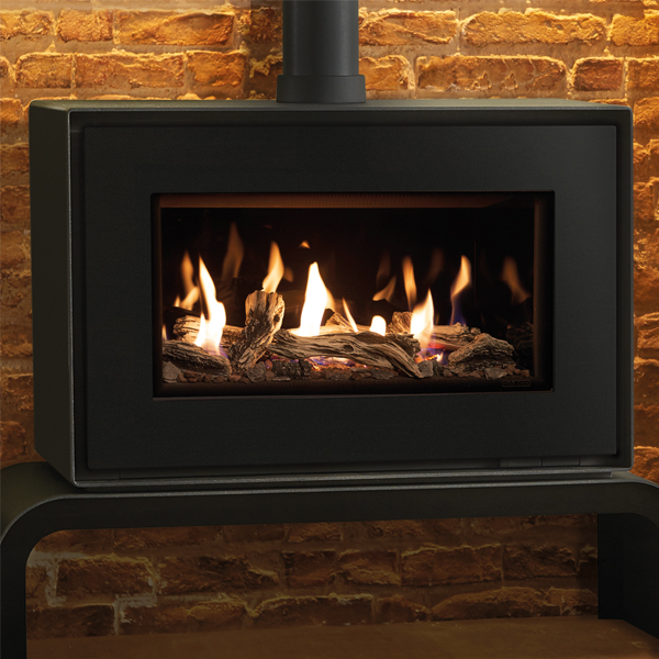 Gazco Studio 1 Freestanding Balanced Flue Gas Fire Flames Co Uk