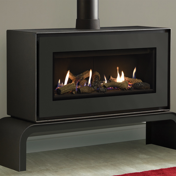 Gazco Studio 2 Freestanding Conventional Flue Gas Fire Flames Co Uk
