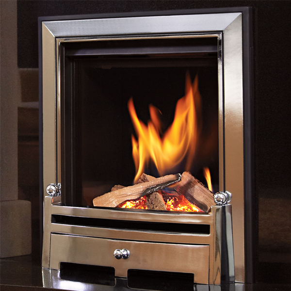 Kinder Passion HE Gas Fire | Flames.co.uk