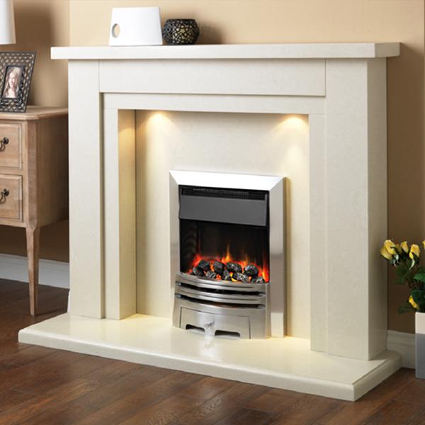 Strange Pureglow Hanley Marble Fireplace Interior Design Ideas Tzicisoteloinfo