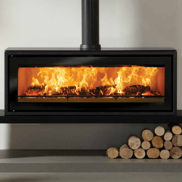 Stovax Studio 3 Freestanding Wood Burning Fire Flames Co Uk