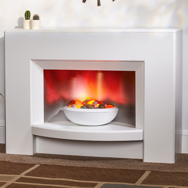 Suncrest Stockeld Electric Fireplace Suite Flames Co Uk