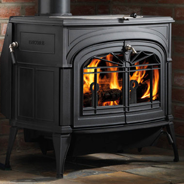 Vermont Castings Encore Two In One Wood Burning Stove