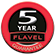 Flavel 5 Year Guarantee