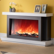 AGA Rayburn Stratus 100 Extra Tall Electric Fireplace Suite