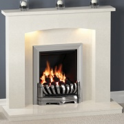 Be Modern Isabelle Marble Fireplace
