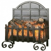Burley Lyddington Forge Electric Basket Fire