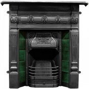 Carron Lambourn Cast Iron Combination Fireplace