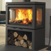 Dik Geurts Vidar Triple Wood Burning Stove