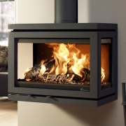 Dik Geurts Vidar Wall Wood Burning Stove