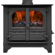 Dunsley Highlander 10 Multi-Fuel Central Heating Boiler Stove
