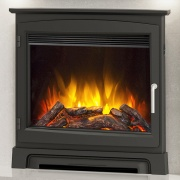 Elgin & Hall 22'' Widescreen Electric Fire with Stove Front