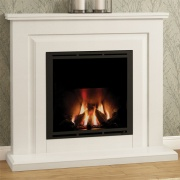 Elgin & Hall Mariella 900 Marble Gas Fireplace Suite