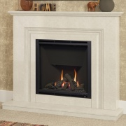 Elgin & Hall Vamella 900 Marble Gas Fireplace Suite