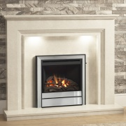Elgin & Hall Vamella Marble Fireplace