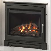 Elgin & Hall 22'' Widescreen Gas Fire with Stove Front