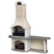 Evolve Verona Masonry Barbecue with Side Table
