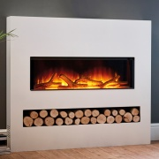 Flamerite Gotham 900 Electric Fire with Freestanding Suite