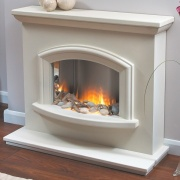 Flamerite Mercia Electric Fireplace Suite