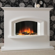 Flamerite Valentino Electric Fireplace Suite