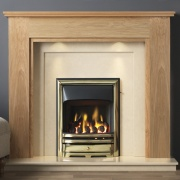 Gallery Atwick Wooden Fireplace Suite