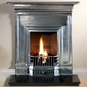 Gallery Barcelona 36'' Cast Iron Combination Fireplace